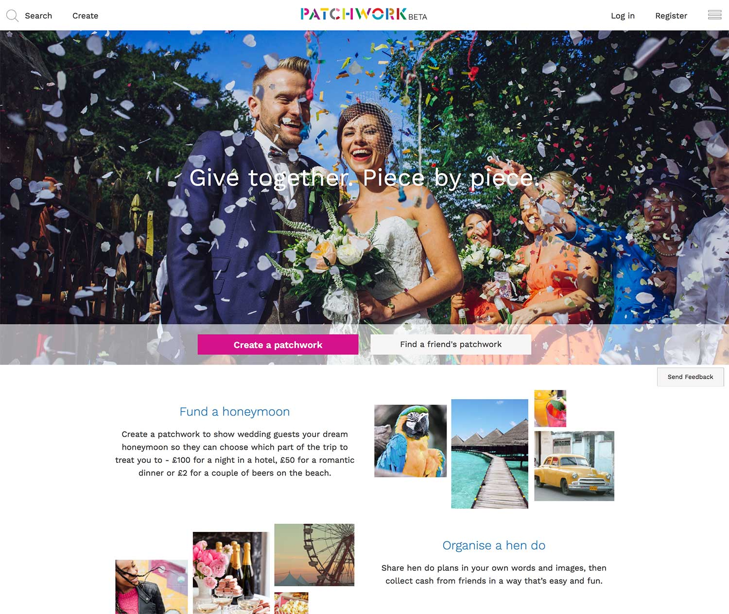 Patchwork homepage
